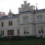 Nádasdy Kastély - Főépület, kerti homlokzat