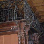Nádasdy Kastély - Könyvtár, galéria korlát